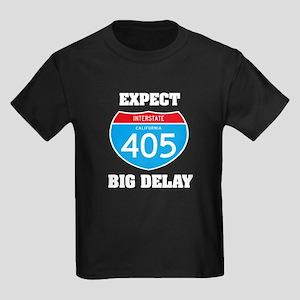 405 expect big delay Kids Dark T-Shirt