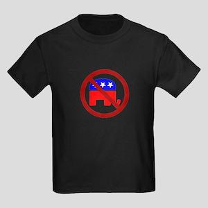 Anti-Elephant Kids Dark T-Shirt