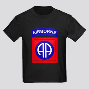 82nd Airborne Division Logo Kids Dark T-Shirt