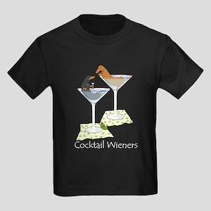 Cocktail Wieners (duo) Kids Dark T-Shirt