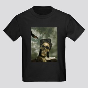 Death From the Skies Kids Dark T-Shirt