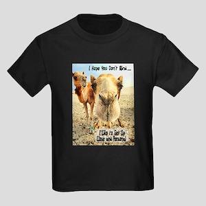 I Like to Get Up Close and Pe Kids Dark T-Shirt
