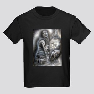 Il Morte A Macchina Kids Dark T-Shirt