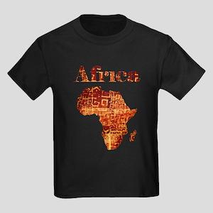 Ethnic Africa Kids Dark T-Shirt