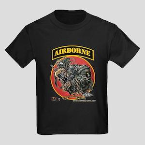 101 Airborne Eagle Kids Dark T-Shirt