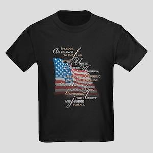 US Pledge - Kids Dark T-Shirt