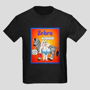 Zebras Kids Dark T-Shirt