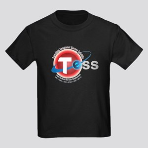 TESS Program Logo Kids Dark T-Shirt