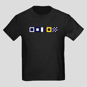 Nautical Spain Kids Dark T-Shirt
