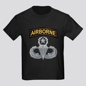 Master Airborne Wings with Ai Kids Light T-Shirt