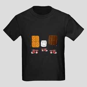 Funny Smores Camping Cartoon T-Shirt
