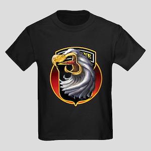 Screamin' Eagles Badge Kids Dark T-Shirt