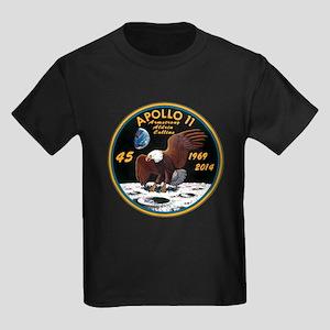 Apollo 11 45th Anniversary Kids Dark T-Shirt