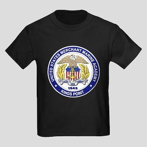 Merchant Marine Academy Kids Dark T-Shirt
