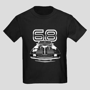 1968 Camaro Kids Dark T-Shirt