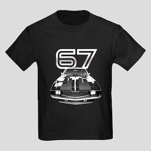 1967 Camaro Kids Dark T-Shirt