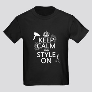 Keep Calm and Style On T-Shirt