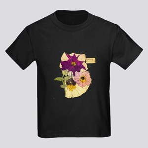 C R Mackintosh Petunias T-Shirt