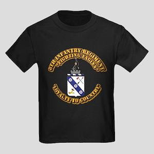 COA - 8th Infantry Regiment Kids Dark T-Shirt