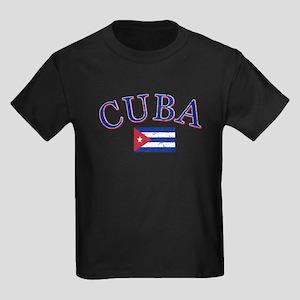 Cuba Football Kids Dark T-Shirt