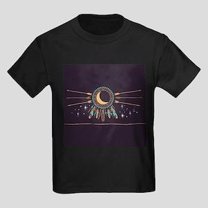 Dreamcatcher Moon Kids Dark T-Shirt