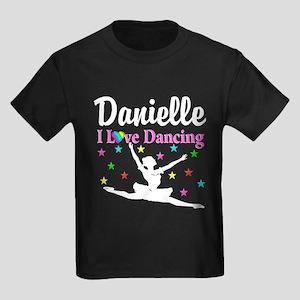 DANCING PRINCESS Kids Dark T-Shirt