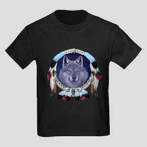 Dream Wolf Kids Dark T-Shirt
