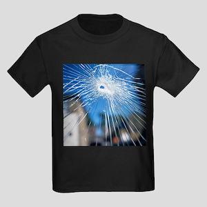 Broken glass - Kid's Dark T-Shirt