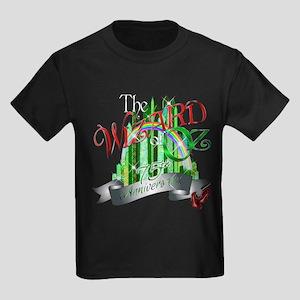 Wizard of OZ 75th Anniversary Em Kids Dark T-Shirt