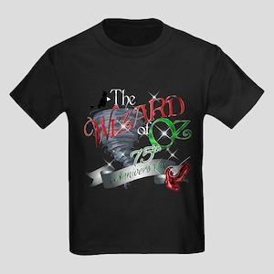 75th Anniversary Wizard of Oz To Kids Dark T-Shirt
