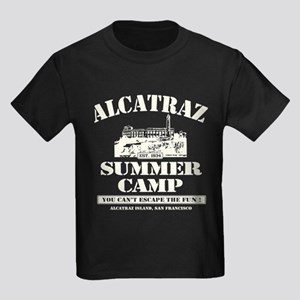 ALCATRAZ SUMMER CAMP Kids Dark T-Shirt