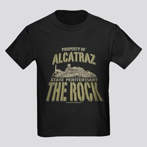 PROPERTY OF ALCATRAZ Kids Dark T-Shirt