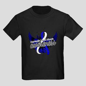 ALS Awareness 16 Kids Dark T-Shirt