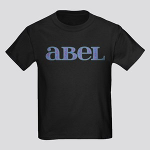 Abel Blue Glass Kids Dark T-Shirt