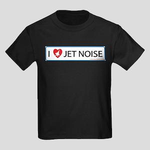 I 3 Jet Noise Kids Dark T-Shirt