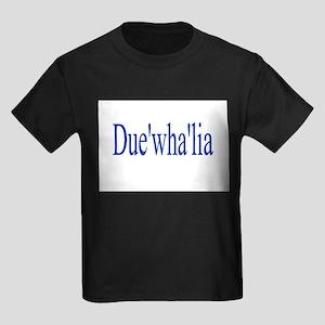 Duewhalia Kids Dark T-Shirt
