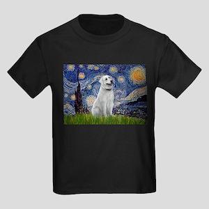 Starry Night & Anatolian Kids Dark T-Shirt