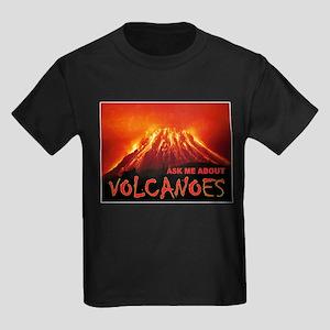 VOLCANOES Kids Dark T-Shirt