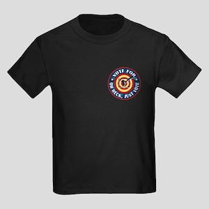 Funny Oh Heck Just Vote Kids Dark T-Shirt