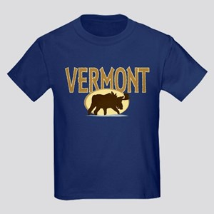 VT Moose Kids Dark T-Shirt
