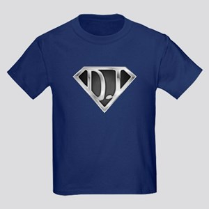 Super DJ(metal) Kids Dark T-Shirt