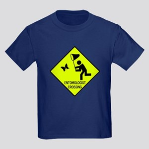 Entomolgist Crossing Kids Dark T-Shirt