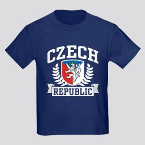 Czech Republic Kids Dark T-Shirt