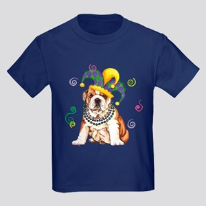 Party Bulldog Kids Dark T-Shirt