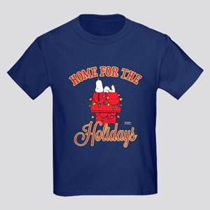 Home for the Holidays Kids Dark T-Shirt