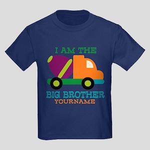 dda53f09 Cement Mixer Big Brother Kids Dark T-Shirt