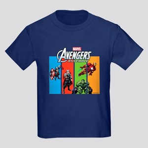 Avengers Kids Dark T-Shirt