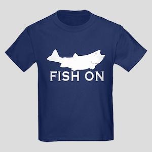 Fish on Kids Dark T-Shirt