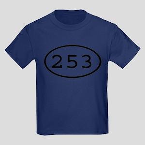 253 Oval Kids Dark T-Shirt