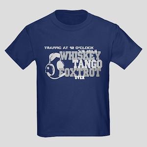 Aviation Humor Kids Dark T-Shirt